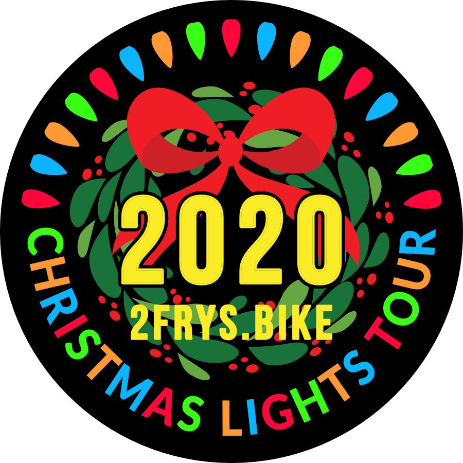 2Fries.Bike Christmas Ride-Lights Concept F